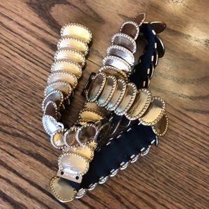 Accessories - Gold vintage slinky belt